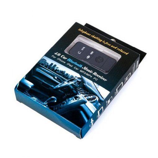 Car Bluetooth 4.0 Music Receiver - Black