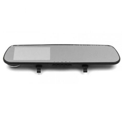 4.3 Inches High Definition LCD Car Black Rear View Mirror DVR - Black