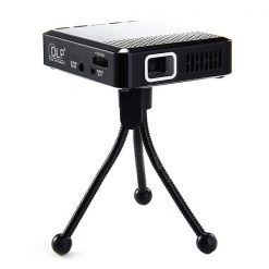 Pocket Size 40 Lumens DLP LED Projector - Black
