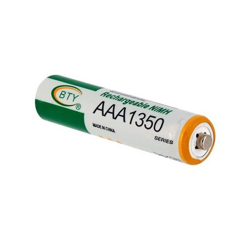 4pcs 1.2V 1350mAh Rechargeable AAA Battery