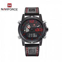 NAVIFORCE NF9095 Men Dual Movement Watch - Red