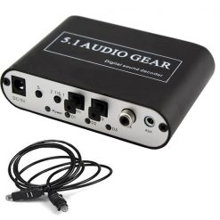 5.1 Audio Gear Digital Sound Decoder