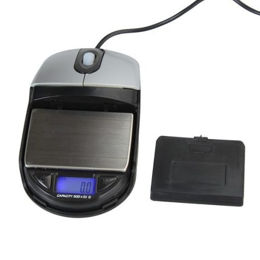 Multifunction Optical Mouse With Digital Scale 500g / 0.1g