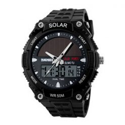 50M Waterproof Dual Mode Watch - Black