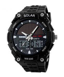 50M Waterproof Dual Mode Watch - Black