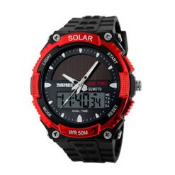 50M Waterproof Dual Mode Watch - Red