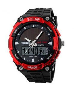 50M Waterproof Dual Mode Watch - Red