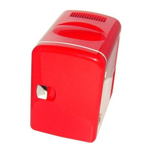 5 Liters Cooler and Warmer Mini Fridge With 12v and 220v Socket - Red