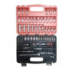 53 Pieces Car Repair Kit - Black/Silver
