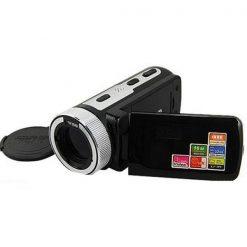 16MP HD Digital Video Camera Recorder - Black