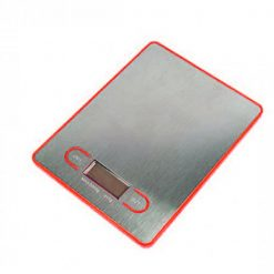 5KG Digital Electronic Kitchen Scale - Red