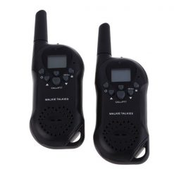 5 Km Two Way Radio Walkie Talkie Apach - Black