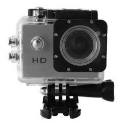 5MP Waterproof Sports Action Cam Camcorder - Silver
