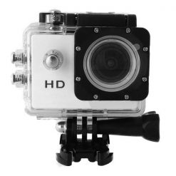 5MP Waterproof Sports Action Cam Camcorder - White