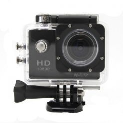 5 MP Photo Resolution 5 MP Image Sensor  WIFI Action Camera with 1.5 inch LCD Monitor - Black