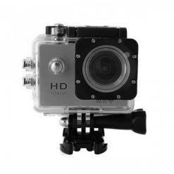 5 MP Photo Resolution 5 MP Image Sensor  WIFI Action Camera with 1.5 inch LCD Monitor - Silver