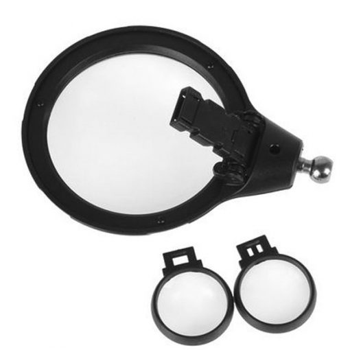 Repair Magnifying Glass With  LED Light - Black