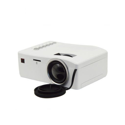 400 Lumens Handheld LED Projector - White
