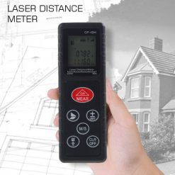 60 Meters Portable Laser Distance Meter - Black