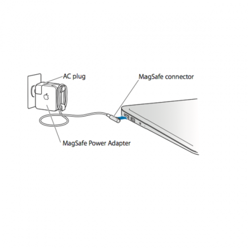 Generic 60W MagSafe 1 Power Adapter for MacBook