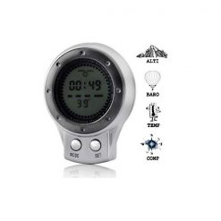 6 in 1 Mini Digital Altimeter Barometer Compass Thermometer