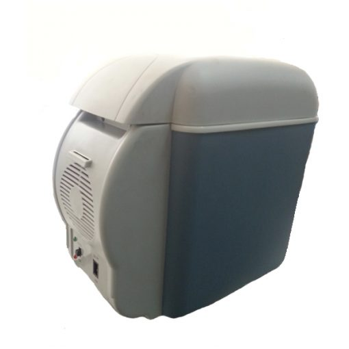 7.5 Liters Mini Thermoelectric Cooler and Warmer - Blue/Gray