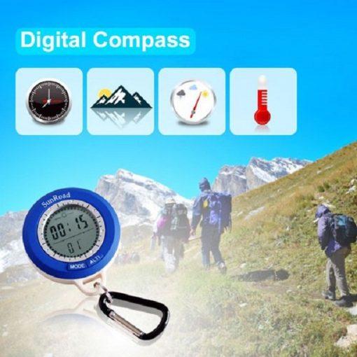 8 in 1 Multifunction Digital Altimeter & Compass