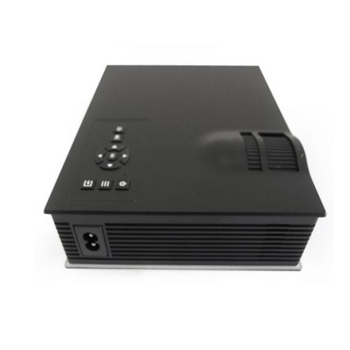 800 Lumens LED Projector With Wifi Miracast Airplay DLNA - Black
