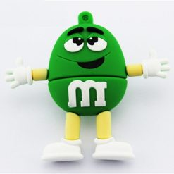 8GB M & M Beans Flash Drive - Green