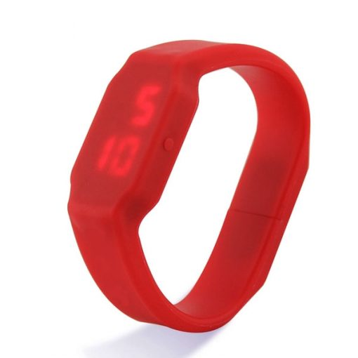 8GB USB LED Watch - Red