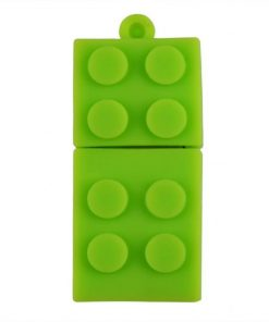 8GB Block Type USB Flash Drive - Green