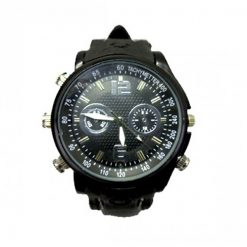 8GB Wrist Watch Video Recorder Hidden Camera - Black