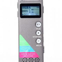 8GB 80 Hours Digital Voice Recorder - Gray