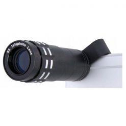 Clip On 9x Telephoto Lens - Black