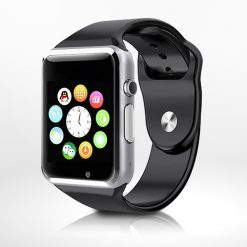 A1 Bluetooth Smart Watch Phone - Black Silver
