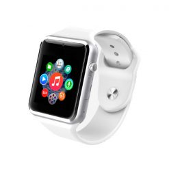 A8 Bluetooth Smart Watch - White