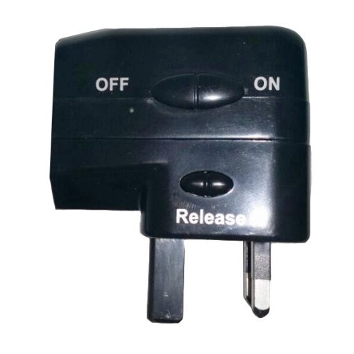 Multipurpose Travel Adaptor - Black