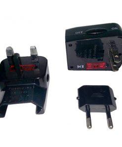 Multipurpose Travel Adaptor - Black