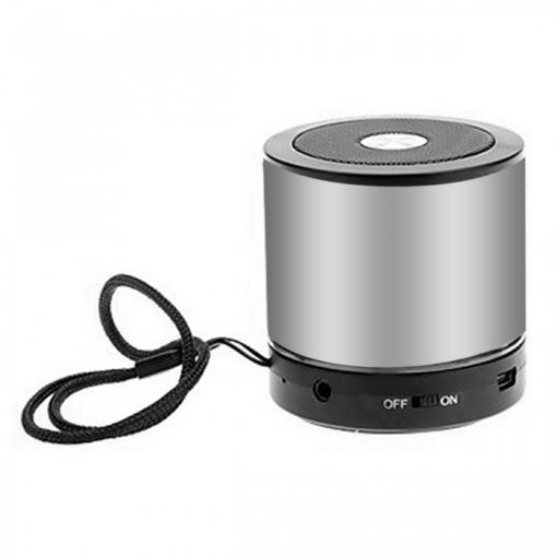 AEC BQ-606 Mini Bluetooth Speaker with FM And Micro SD MP3 Player – Silver