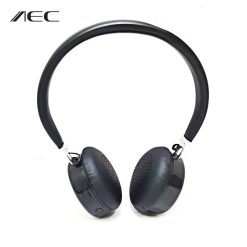 AEC Bluetooth Wireless Travel Headset - Black