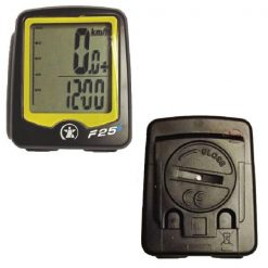 ATECH Wireless Cycling Altimeter -Black/Yellow
