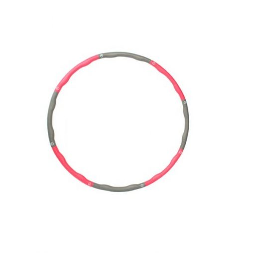 Contoured Abdominal Fitness Hoola Hoop With Weights