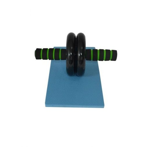 Abdominal Wheel AB Roller Exercise with Brake - Green