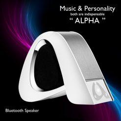 Alpha Wireless Bluetooth Speaker - White