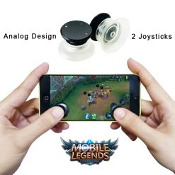 Mini Button Mobile Game Controller - Black