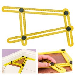 Angle-izer Template Tool Four-sided Measuring Instrument - Yellow