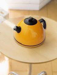 Mini Ultrasonic Supersonic Anion Kettle Humidifier - Yellow