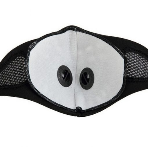 Anti Dust Pollution Cycling Mask - Black
