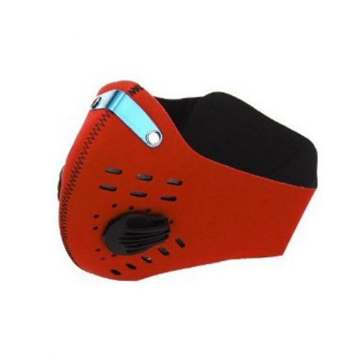 Anti Dust Pollution Cycling Mask - Red