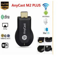 Anycast M2 Plus DLNA Airplay Miracast Wifi To HDMI Display Dongle -  Black